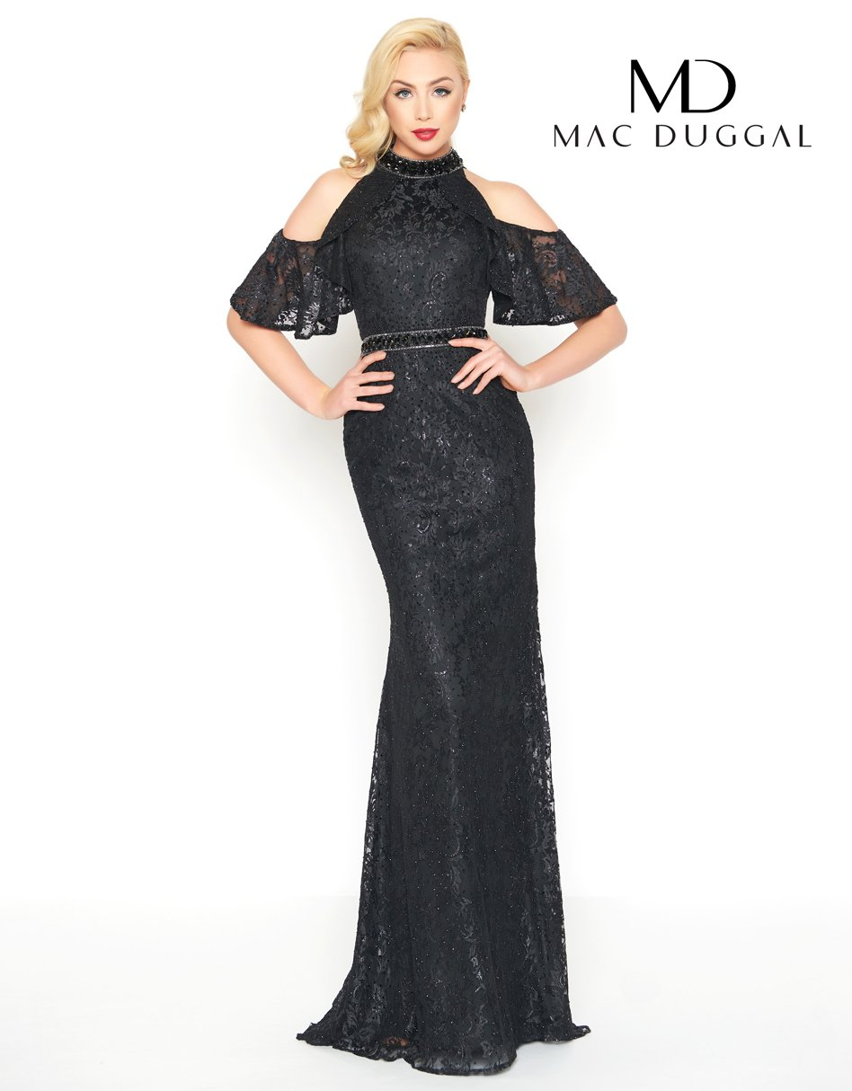 Mac duggal steal the look pinterest lace applique cold