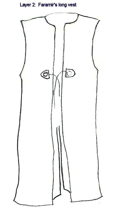 hooded tabard pattern - Google Search | Surcotes and Tabards ...