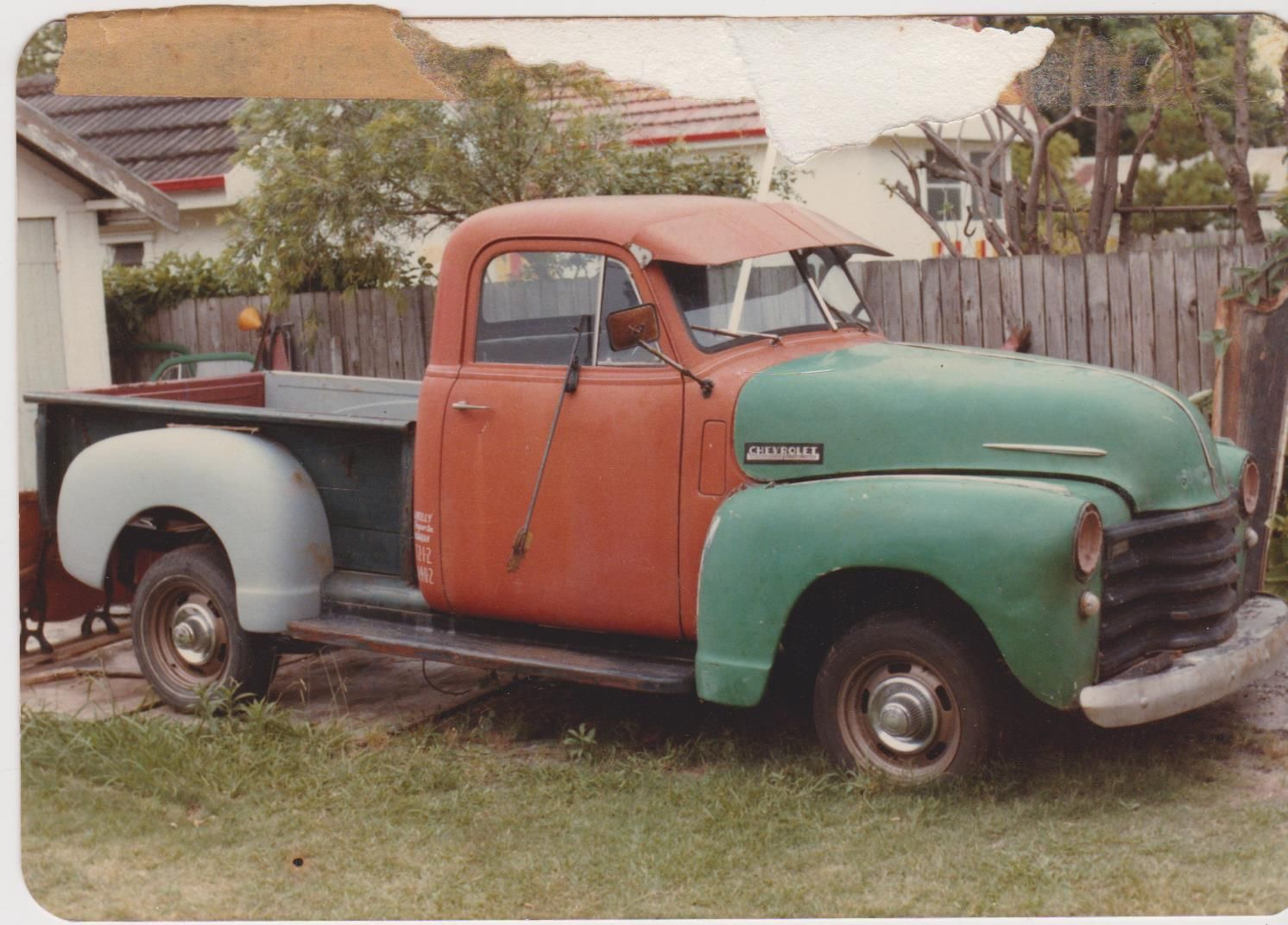 1948 Chev Rhd Australian Assembled 1 2ton Truck Pickup Box Is