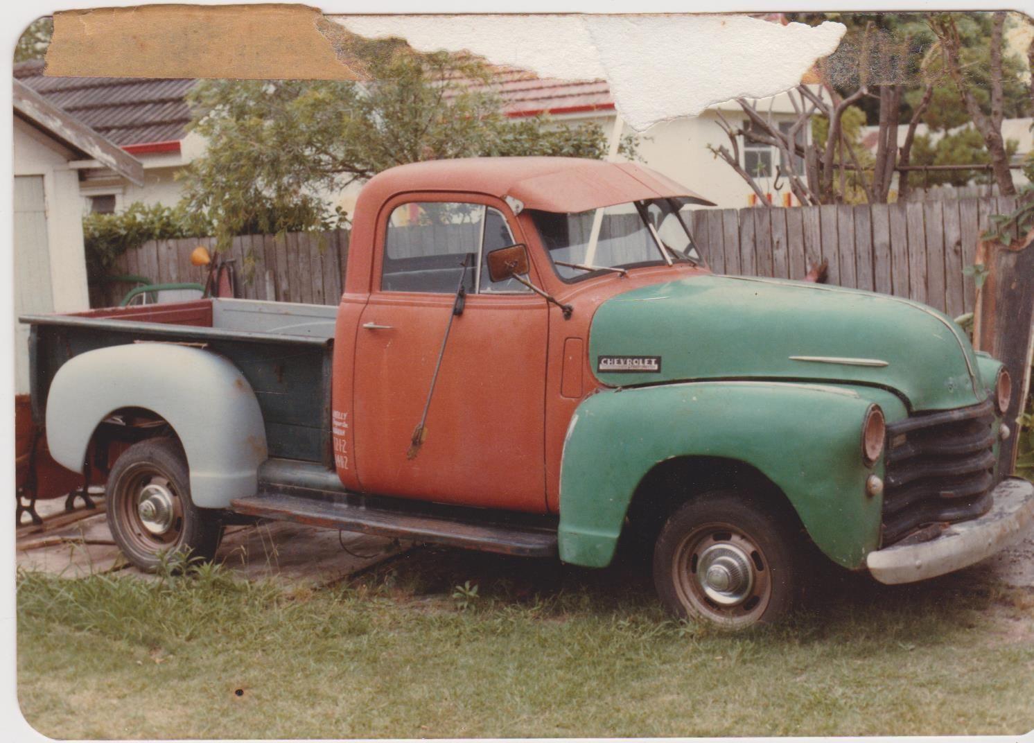 1948 Chev Rhd Australian Assembled 1 2ton Truck Pickup