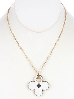 NECKLACE MMN137101GDWHT