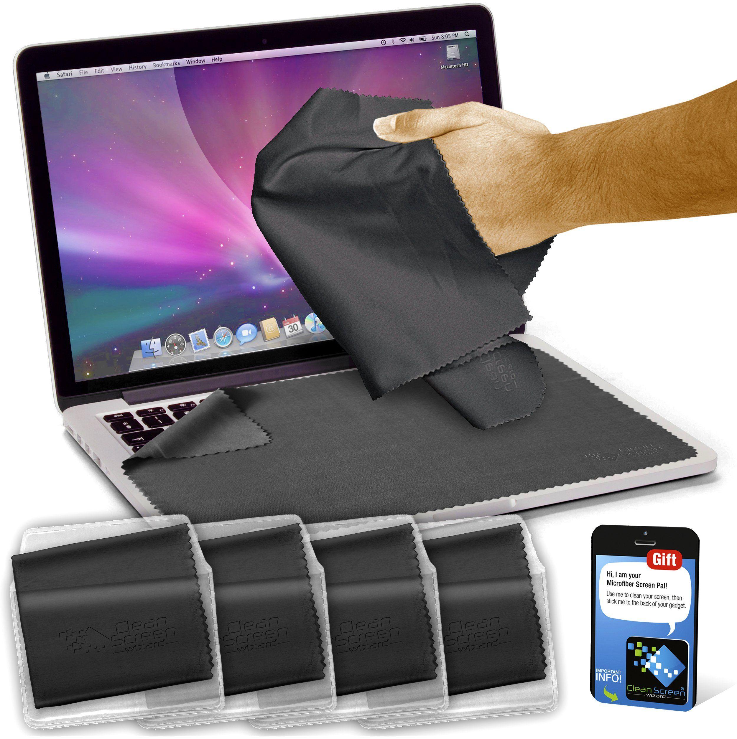 Clean screen wizard microfiber screen protector