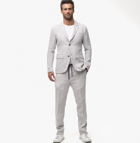 Wearing Linen Suits for Beach Weddings in Summer | Alpha Male Advice ...