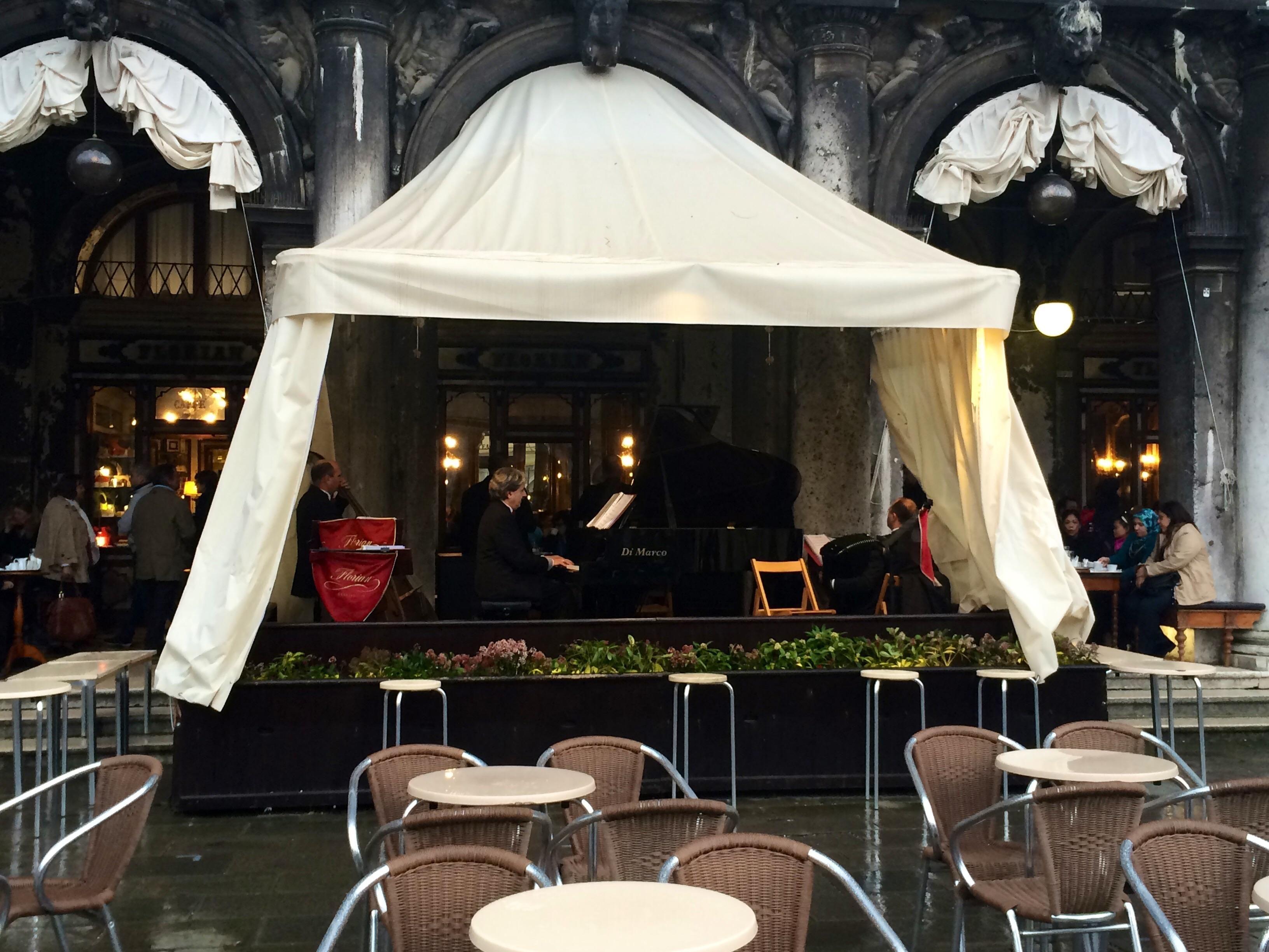 Caffe Florian, Venecia Opiniones sobre restaurantes