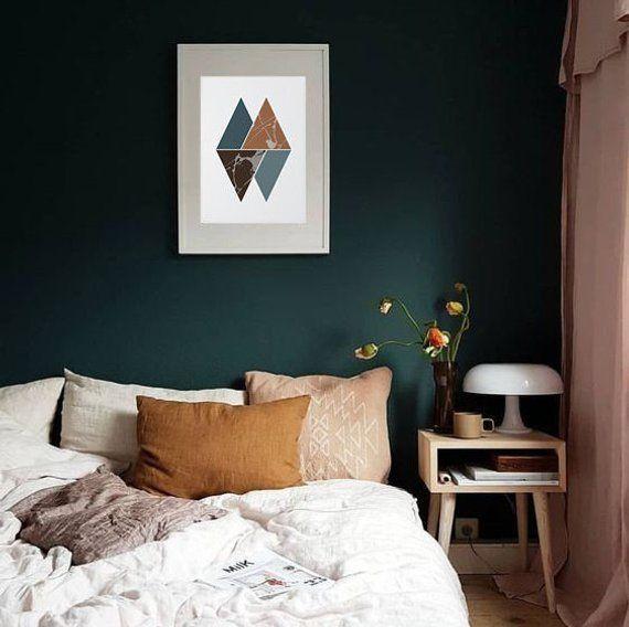 Triangles Wall Art Print, Minimalism, Geometric print, Printable art, Digital print, Minimalist , Tr images