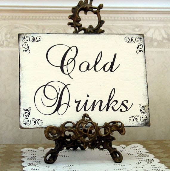 Hey, I found this really awesome Etsy listing at https://www.etsy.com/listing/156086537/cold-drinks-shabby-wood-sign-for-wedding