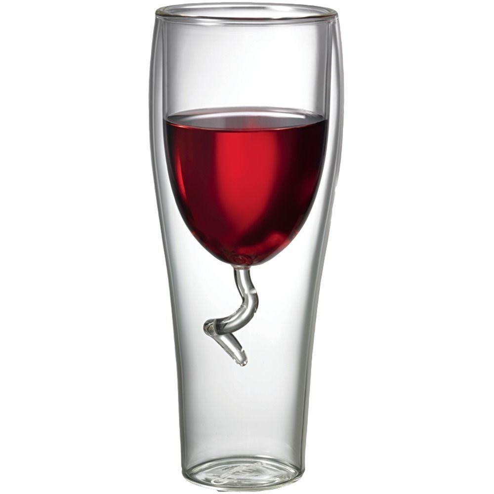 Starfrit 8 Oz Double Wall Wine Glass 080054 006 Amaz The Home Depot In 2020 Wine Glass Glass Wine Glasses