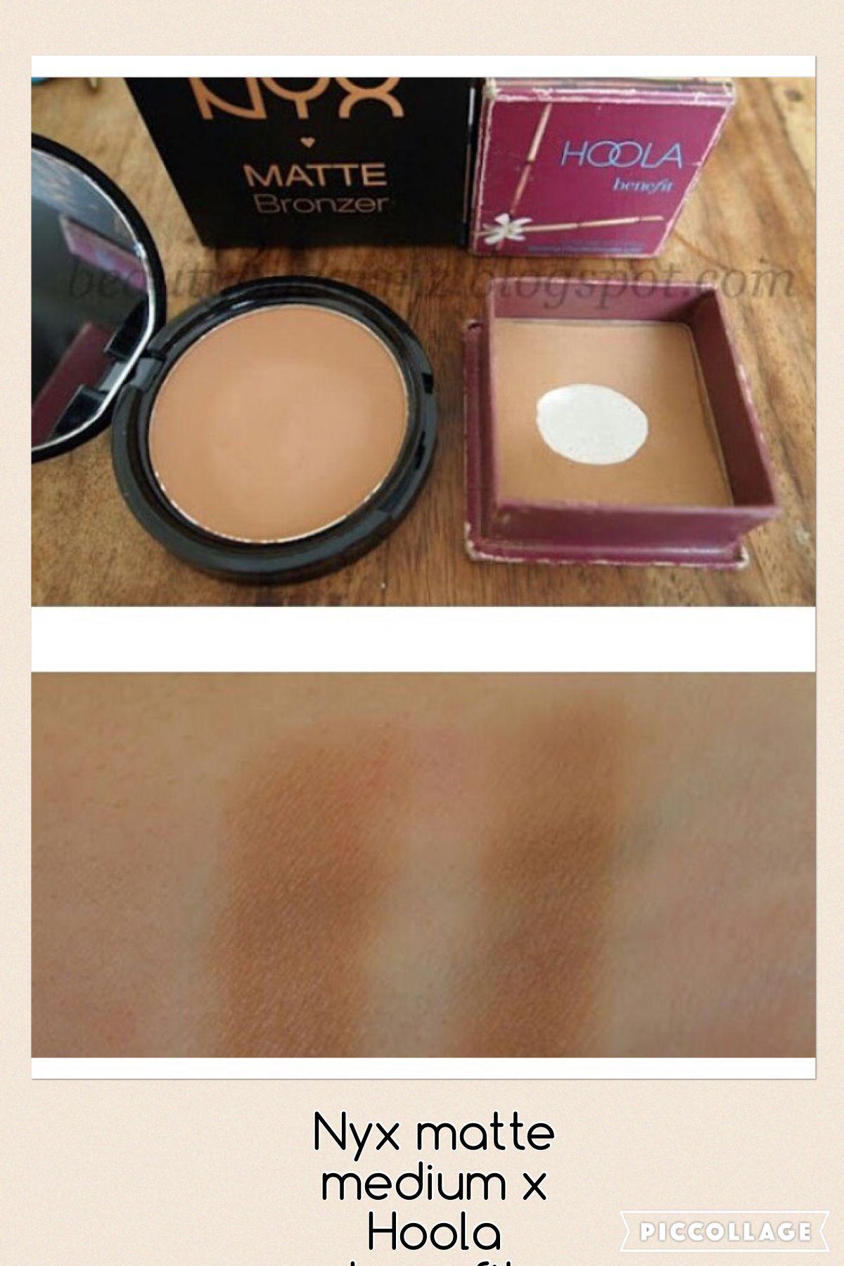 7feb99800eb Nyx Matte Bronzer Medium dupe Hoola Benefit Hoola Bronzer Dupe, Drugstore  Bronzer, Bronzer Makeup