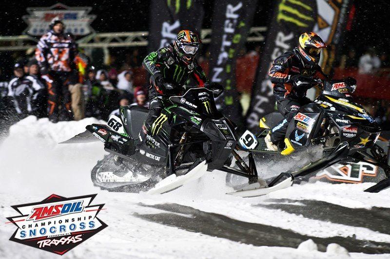 Tucker Hibbert Duluth Nationals Snocross, Snowmobile
