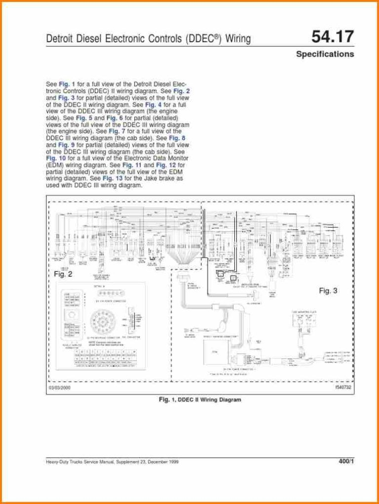 14 Ddec 4 Ecm Wiring Diagram Car Cable Within Detroit