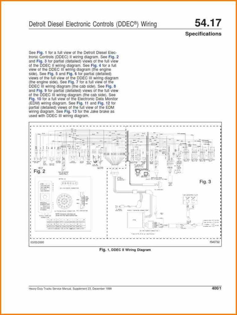 14 ddec 4 ecm wiring diagram car cable within detroit diesel