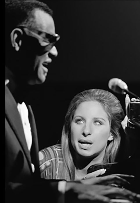 Ray Charles and Barbra