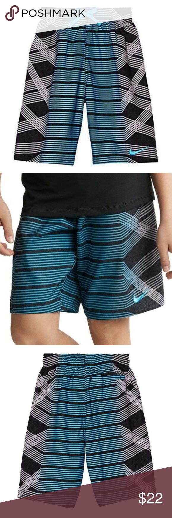 68e0d24acb Nike Boys Spin Breaker Swim Trunks S L Nike Boys Spin Breaker Volley Swim  Trunks NESS8657-430 Blue Black 8