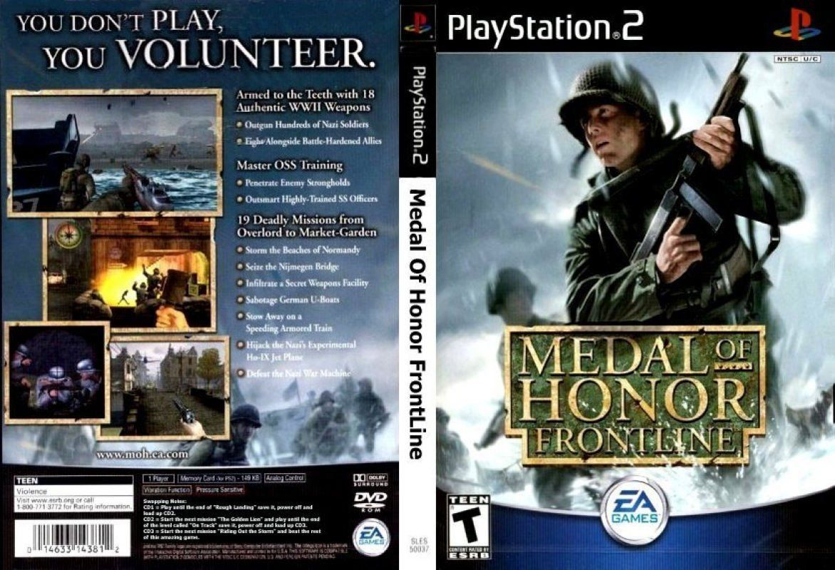 Medal of Honor - Frontline (USA) ISO < PS2 ISOs