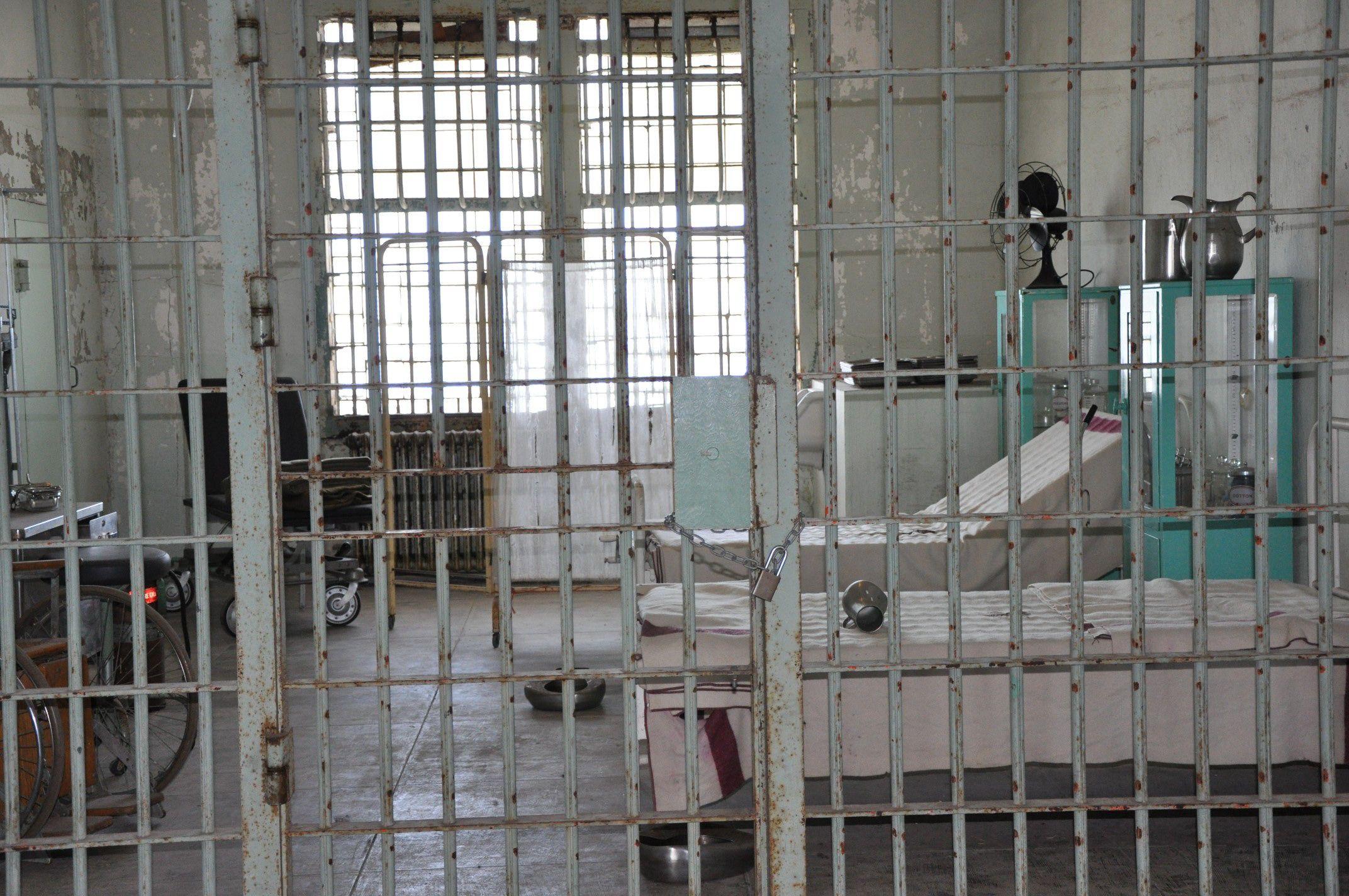 The Prison Hospital Alcatraz Island Prison Alcatraz Island