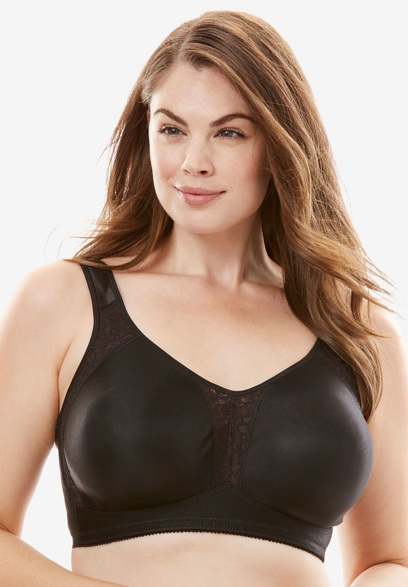 316df000bdf2c 18 Hour Seamless Wireless Bra by Playtex - Women's Plus Size Clothing