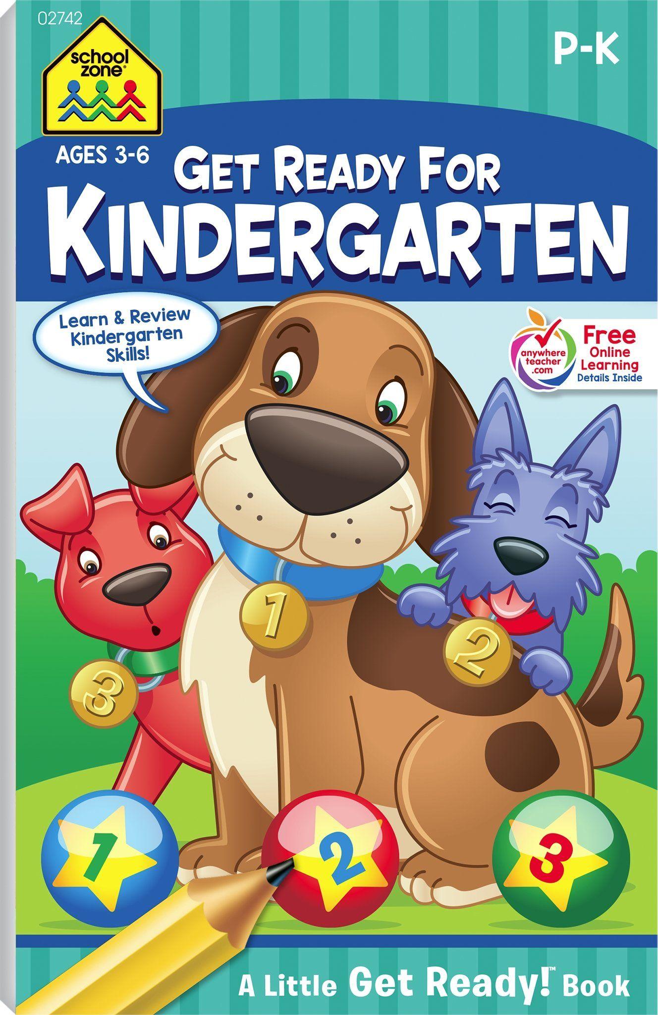 School Zone Get Ready For Kindergarten Little Get Ready