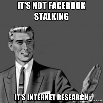 cd889ab44f405c46e1a3fb0f4102f7d9 correction guy facebook stalking surprised i didn't make this