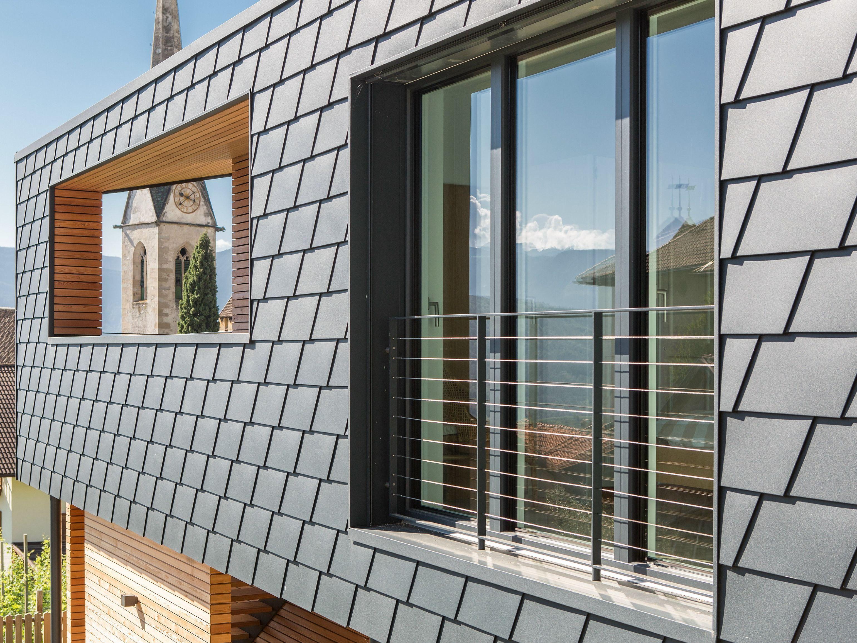 Scandola in alluminio by PREFA ITALIA   Dach   Pinterest   Dachs