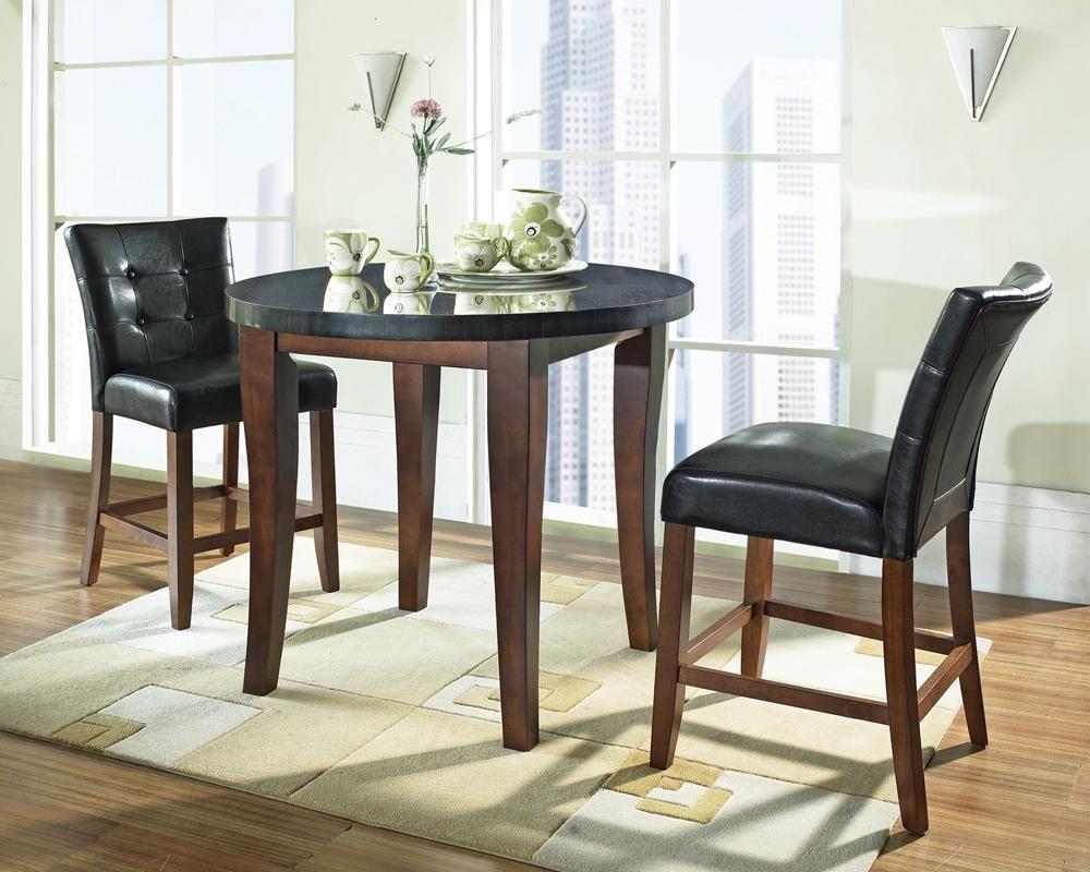 Black Granite Dining Room Table 3985 Granite Bello Rectangular Granite Top Table  Becker
