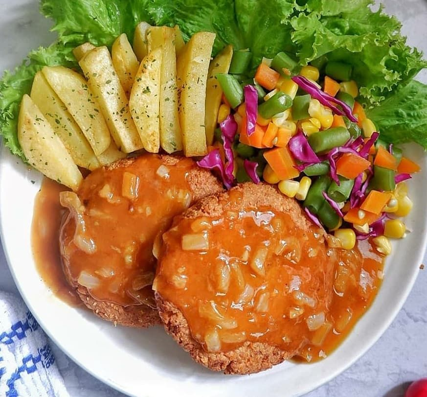 Resep Lauk Berbahan Tempe C Instagram Di 2021 Resep Tempe Tempe Masakan