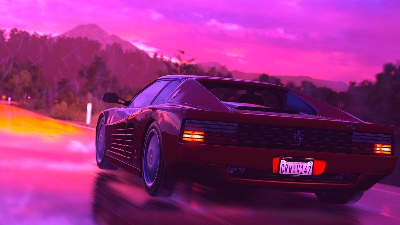Free Smooth Rick Ross X Currensy Type Beat 2018 Testarossa Dreams Retro Wave Retrowave Wallpaper Ferrari Testarossa