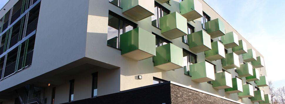 Apartments Mikrowohnung, Fitnessraum, Wohnungsbau