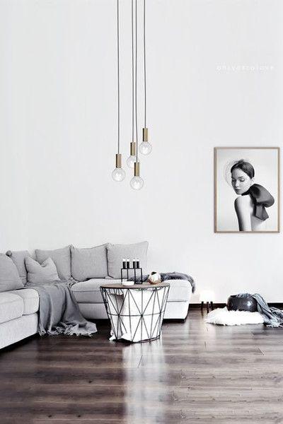 30 Timeless Minimalist Living Room Design Ideas: Modern Minimalist Living Room, Living