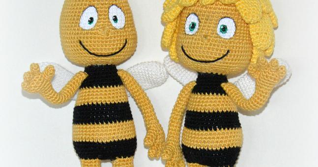 Bienemajahäkeln Kostenlos Häkeln Häkeln Tiere Häkeln Und