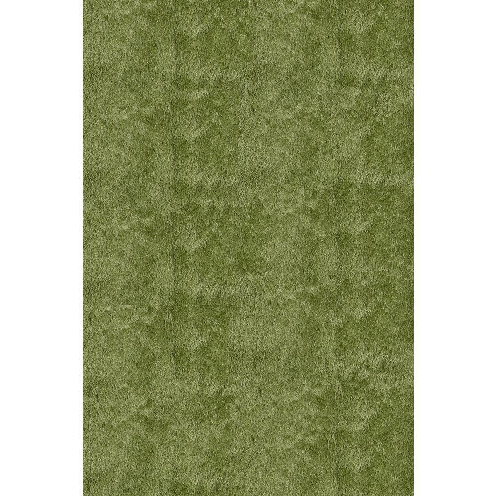 Momeni Luster Shag Apple Green 5 Ft X 7 Ft Indoor Area Rug