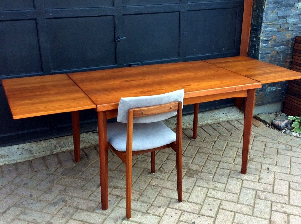 Refinished Danish Mid Century Modern Teak Dining Table By Henning Teak Wood Furniture Teak Dining Table Danish Mid Century Modern Teak Wood Furniture