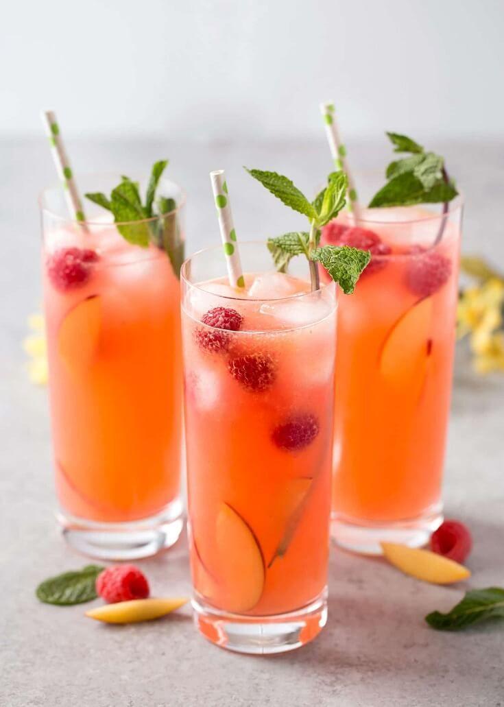 20 Refreshing Lemonade Drinks For Summer #lemonade