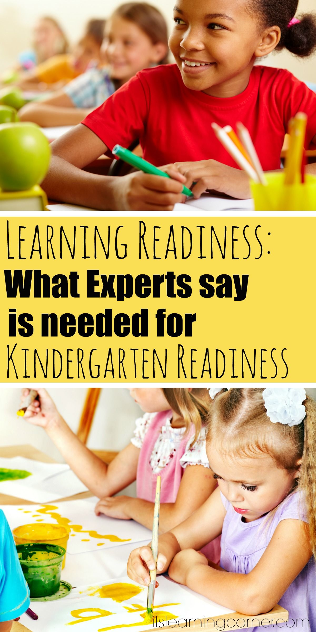 Is My Child Ready For Learning What Experts Say Is Really Needed For Kindergarten Readiness