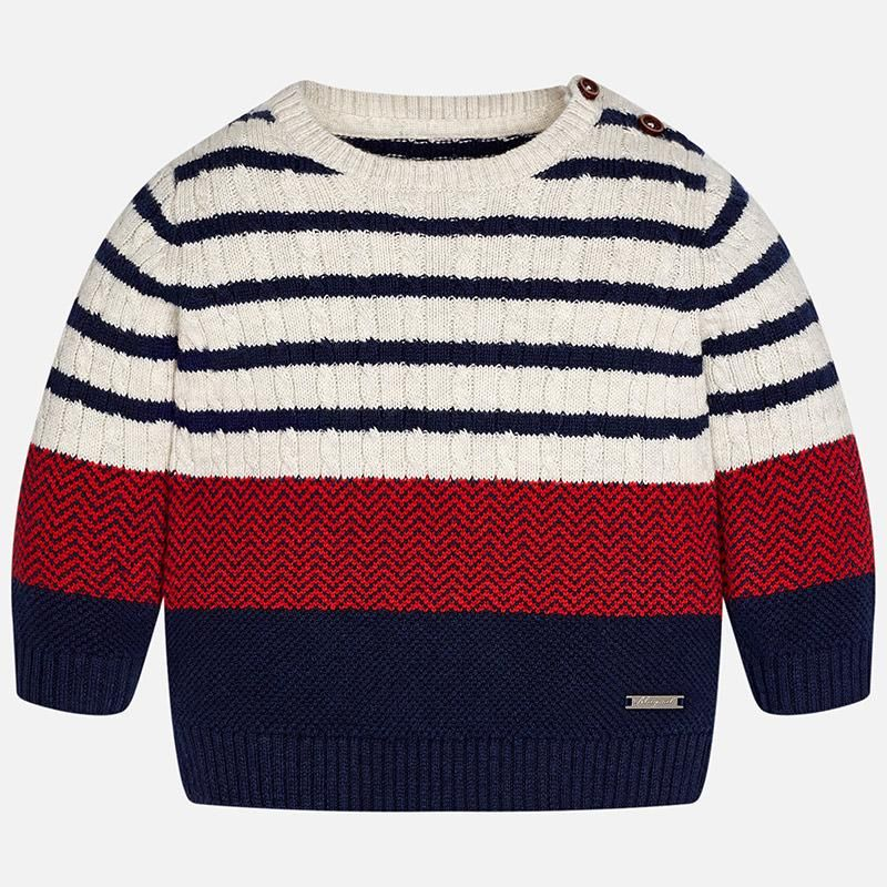 54be613d1 MAYORAL BABY BOY STRIPED SWEATER