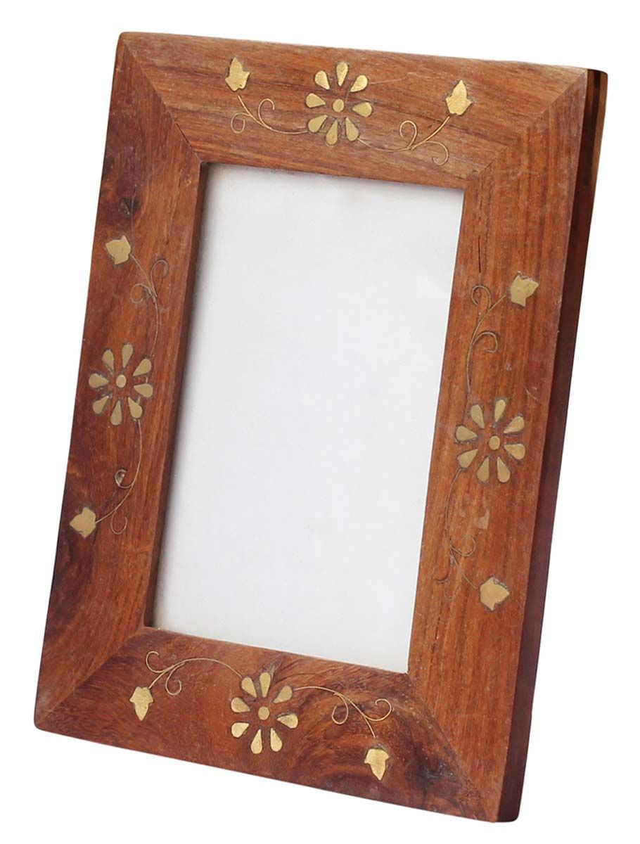 Bulk Wholesale Handmade Rosewood Picture Frame with Decorative Brass ...