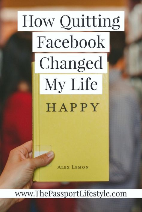 The 2 Reasons Why I Quit Facebook | Benefits of quitting social