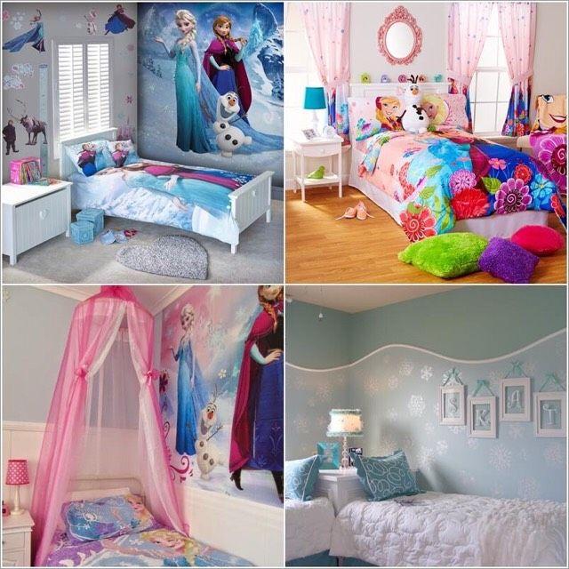 frozen movie inspired kids bedroom ideas family kids trusper tip rh pinterest com