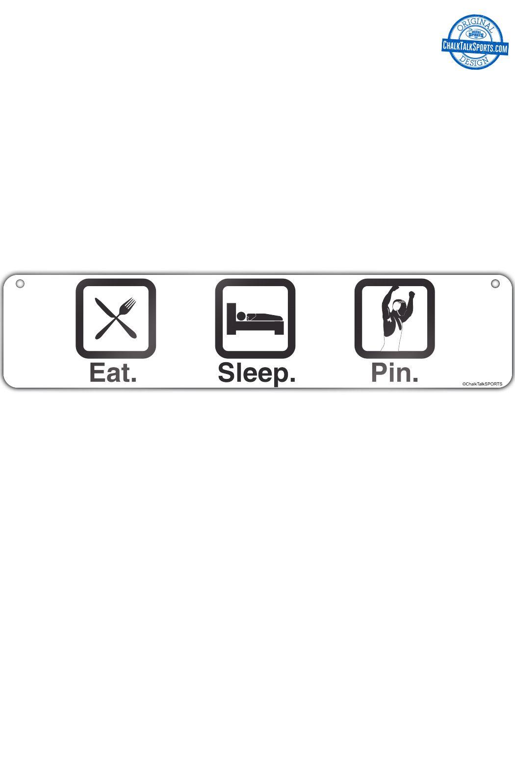Wrestling Room Design: Eat. Sleep. Pin. We Have The Ultimate Wrestling Room Decor