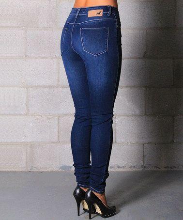 Another great find on #zulily! Medium Wash Melissa Skinny Jeans - Women #zulilyfinds