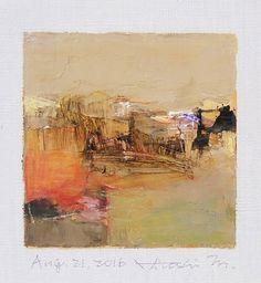 Aug. 21 2016 Original Abstract Oil Painting by hiroshimatsumoto