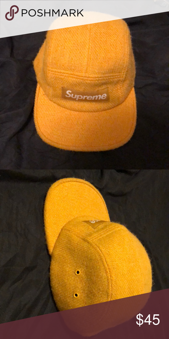 83d3e8345a6 Vintage supreme hat Nice material Goes well with the leopard print roses on  my page 10 10 condition Supreme Accessories Hats
