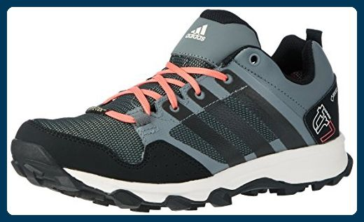 adidas Damen Kanadia 7 Trail GTX Traillaufschuhe, Grau (Vista Grey/Core Black/Super Blush), 41 1/3 EU