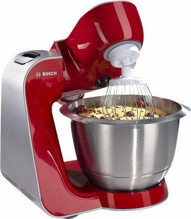 Bosch Kuchenmaschine Styline Mum56740 900 Watt Mit Viel Zubehor