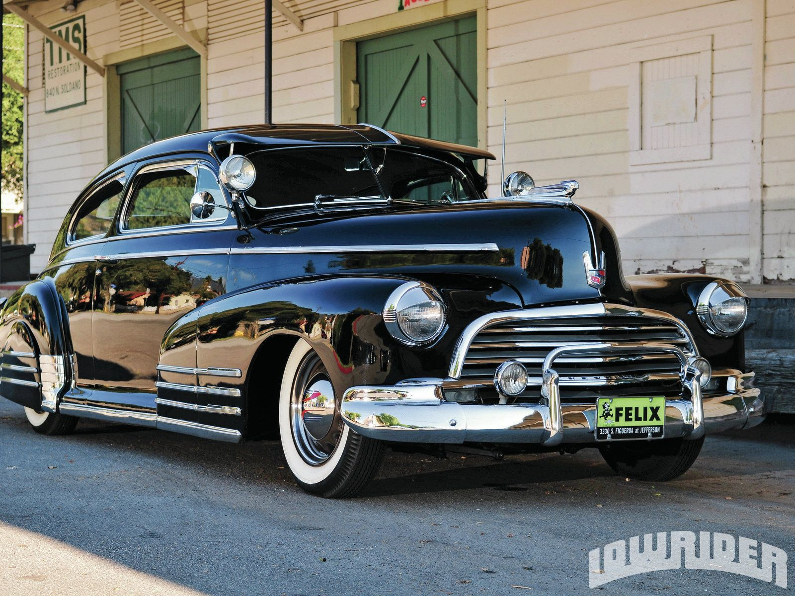 As You Can Imagine Everywhere Paul Hertz Goes The 1946 Chevrolet