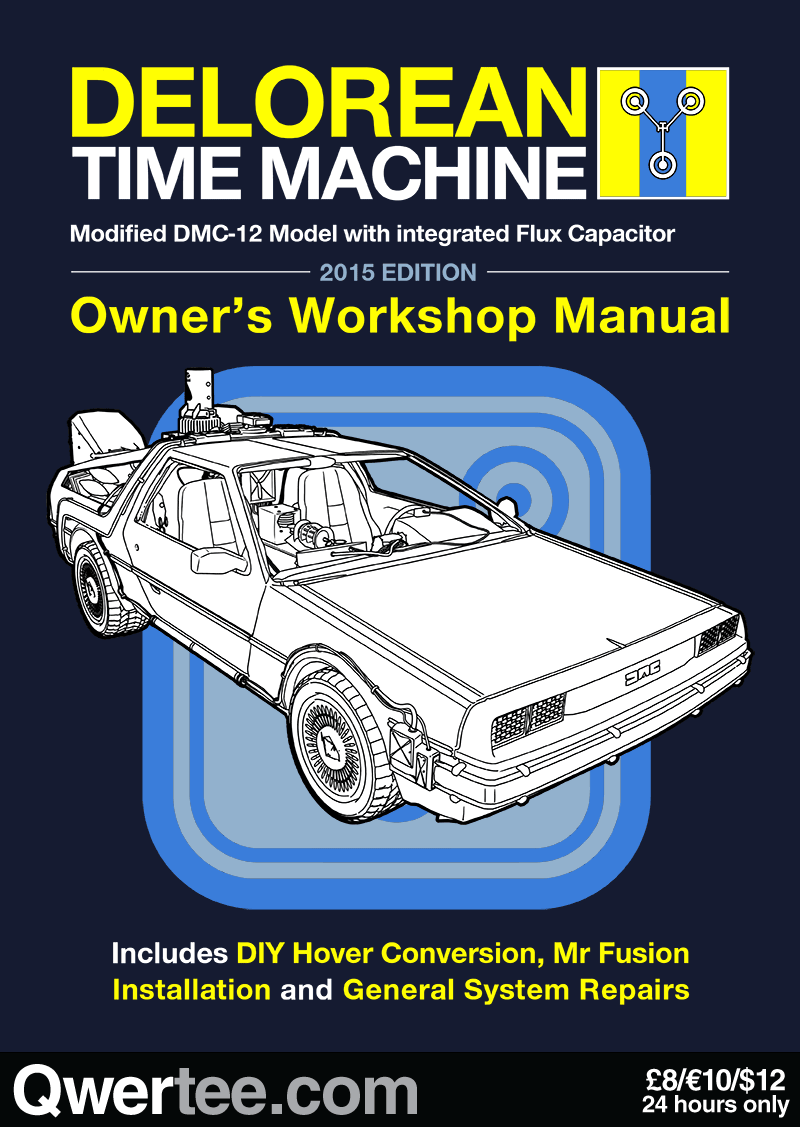 Time Machine Manual | Geekery | Pinterest | Back to the Future, Bttf