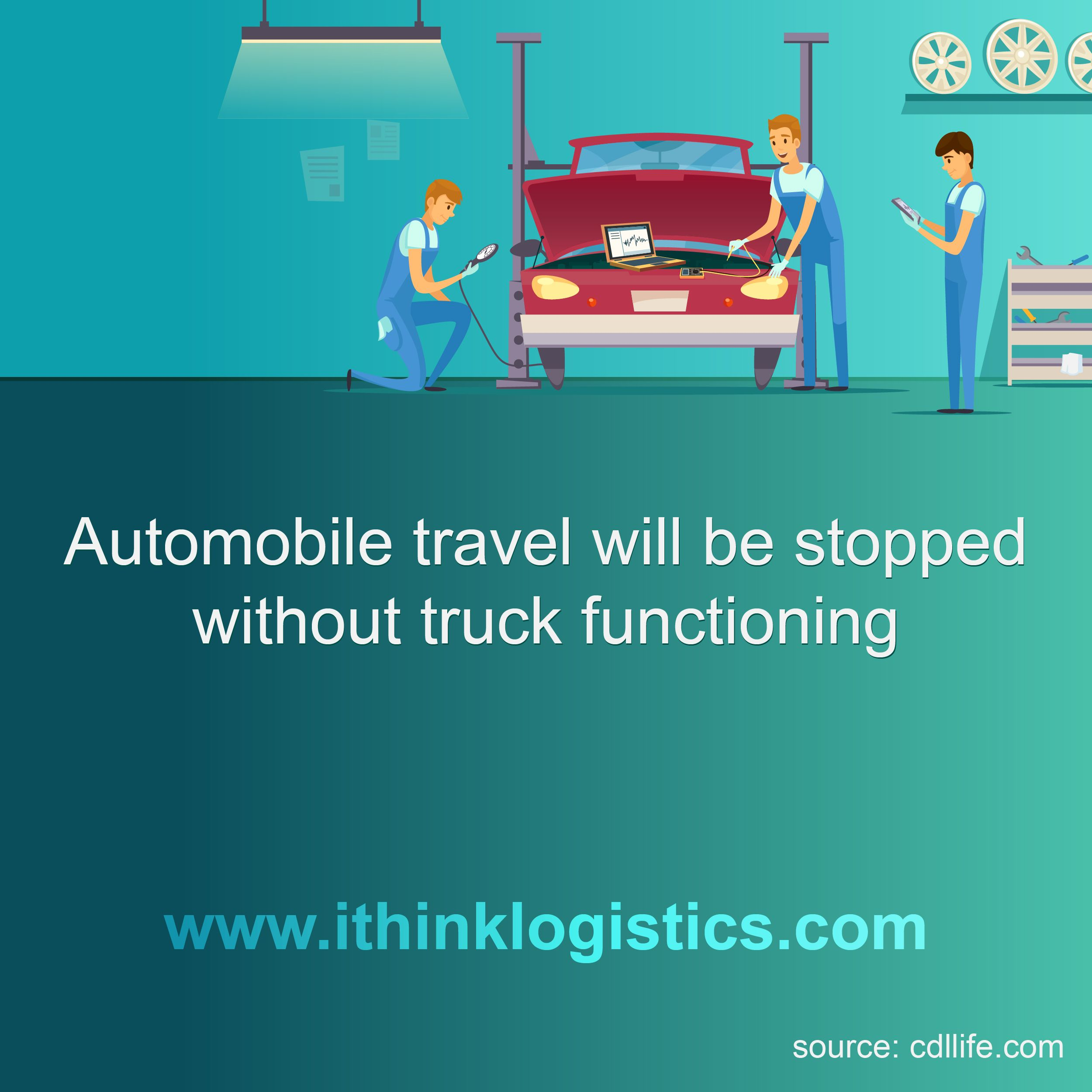 All The Automobiles Would Be Stopped Without Functioning Of The