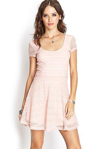Lace Skater Dress Dresses Lace Skater Dress Performance Dresses