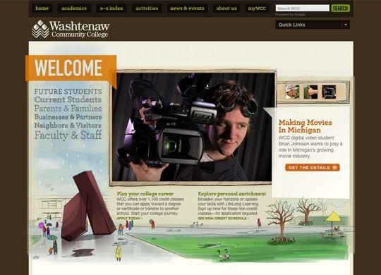 50 Beautifully Brown Web Designs