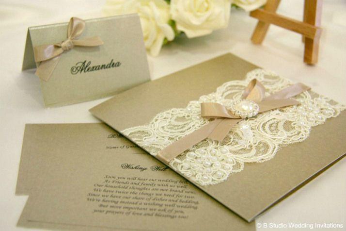 Craft Lace Invitation