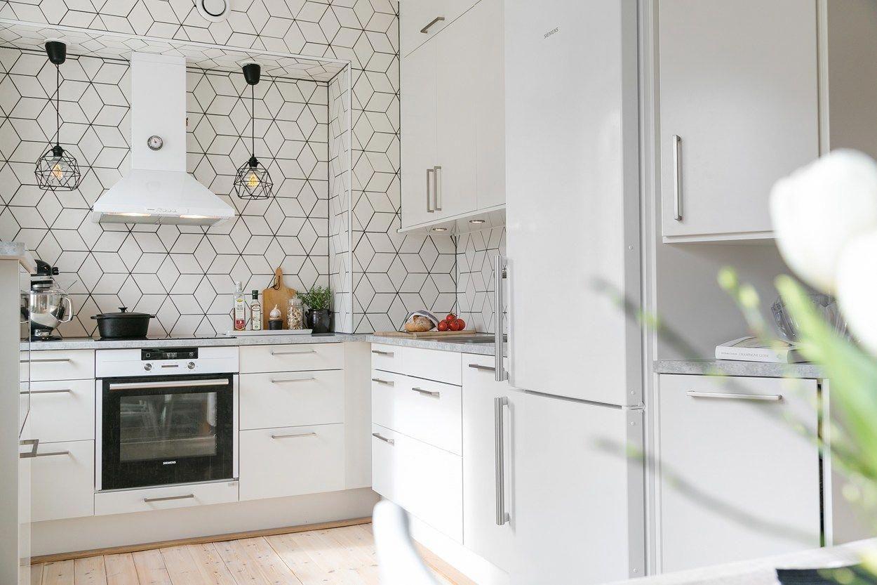 Estilo Escandinavo Cocinas Nordicas Cocinas Modernas Cocinas En U